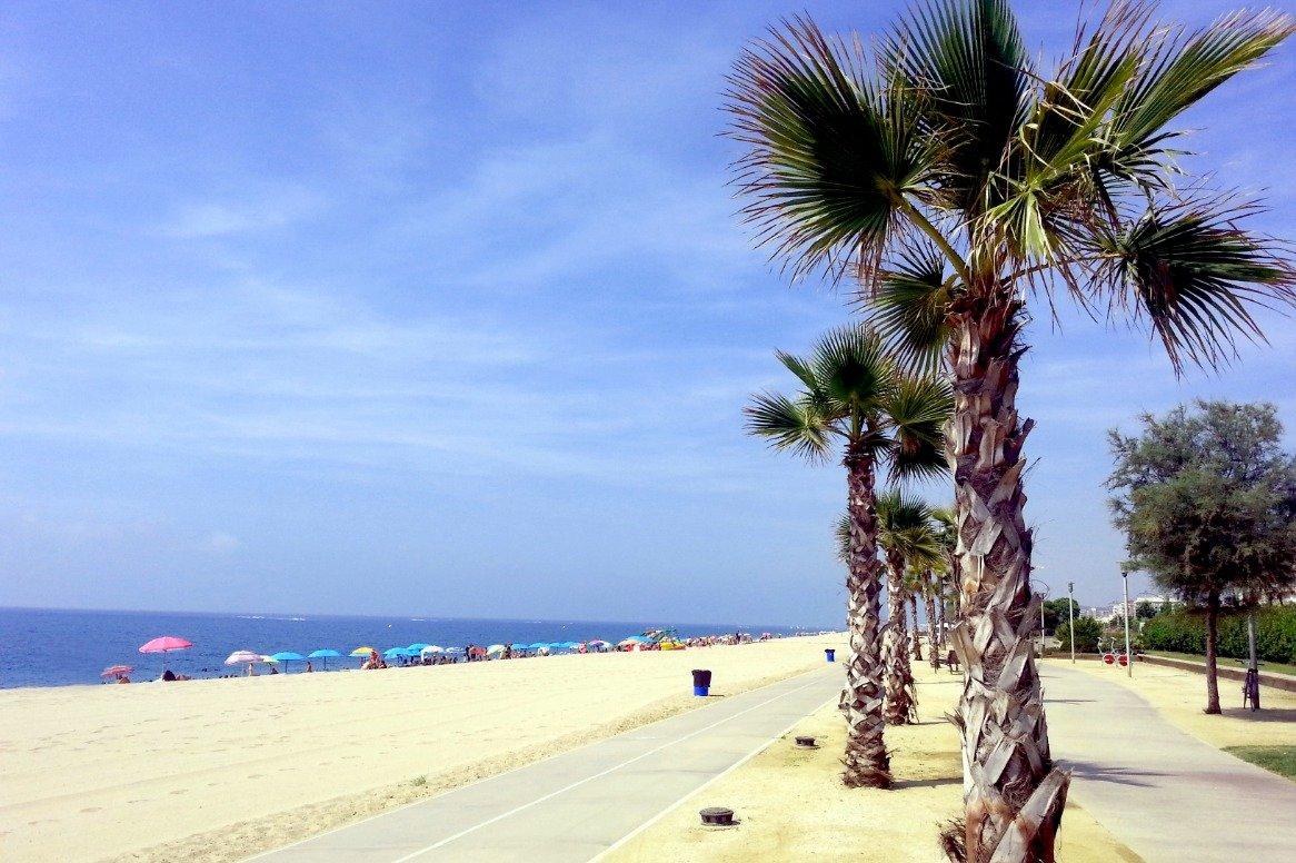 Spanje - Strand Pineda de Mar
