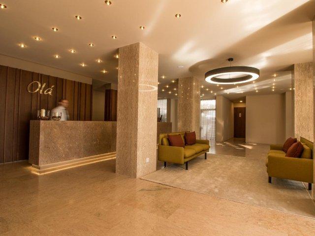 Madeira - Funchal - Hotel Girassol - receptie