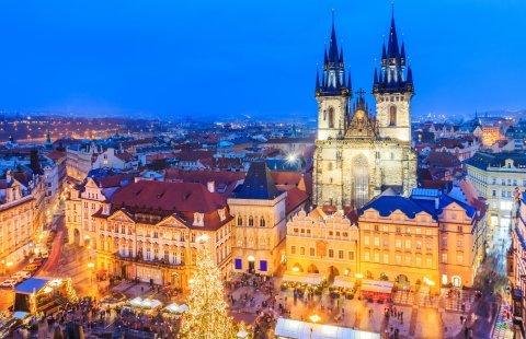Praag - Oude stadsplein