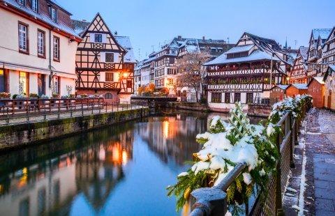Straatsburg - Oude vakwerkhuizen