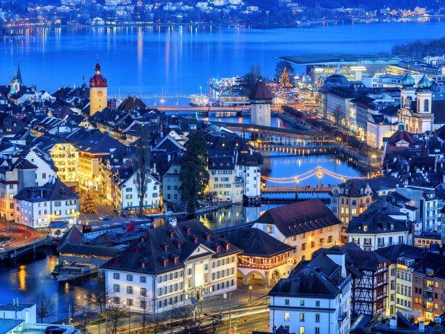 Luzern - Stadsoverzicht