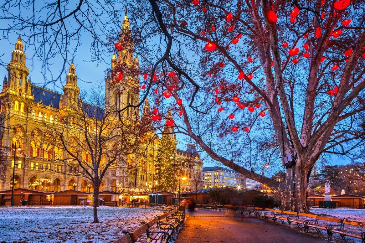 Kerstcruise over de Donau