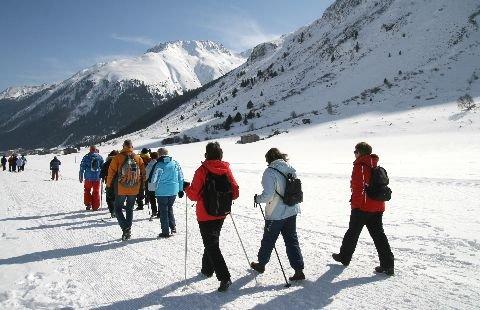 Wandelaars in Wildermieming