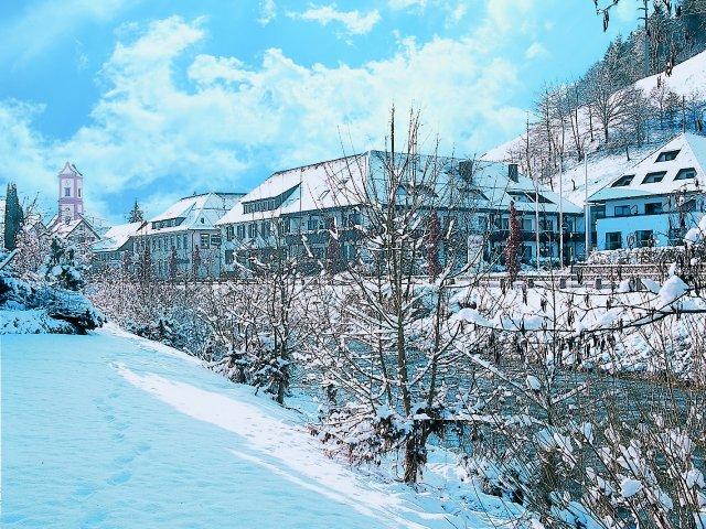 Oberwolfach- 3 könige***- aanzicht winter
