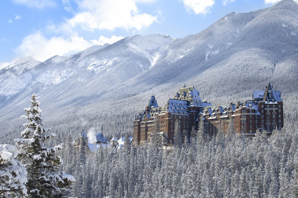 Banff - Fairmont Banff Springs ***** - aanzicht