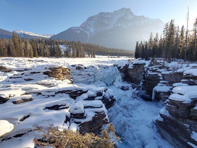 Marmot Basin - Athabasca watervallen