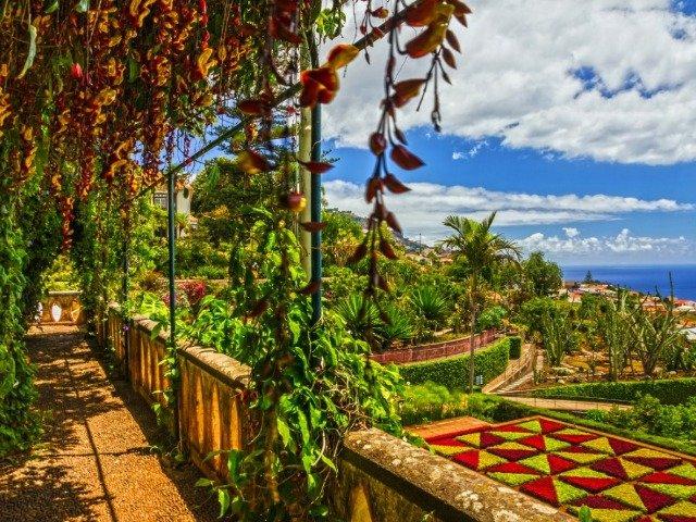 Botanische tuinen in Funchal