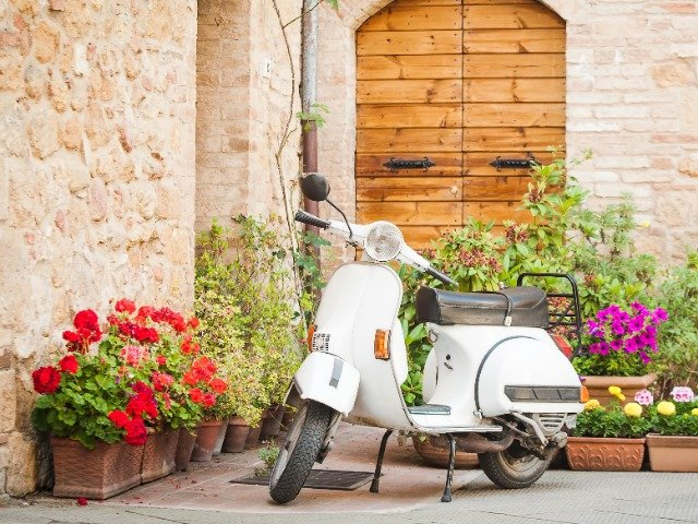 Italië - Italiaanse scooter