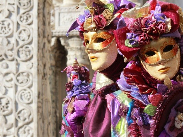 Italië - Venetiaanse maskers