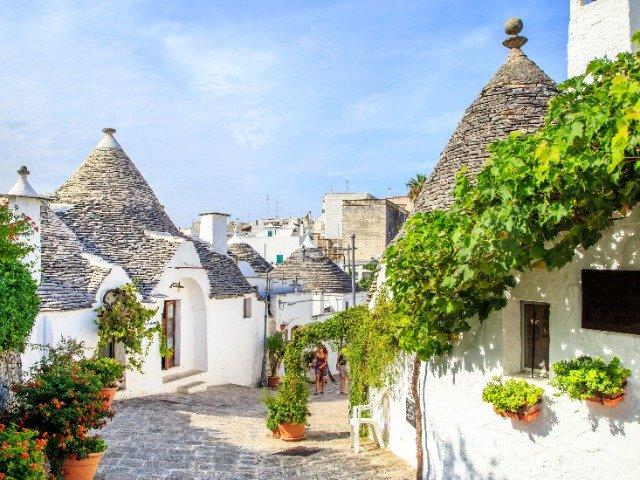 Italië - Trulli huisjes in Alberobello