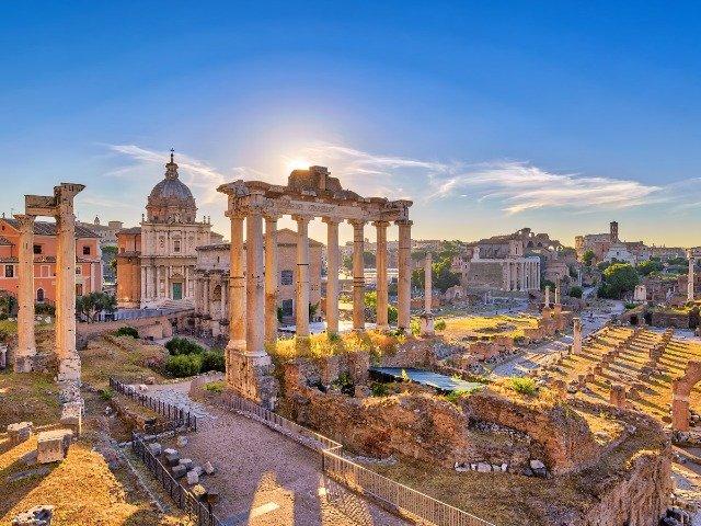 Italië - Forum Romanum in Rome