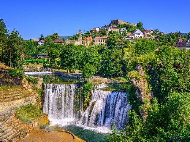 Bosnië Herzegovina - Watervallen in Jajce