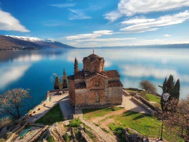 Macedonië - St. John kerk in Ohrid
