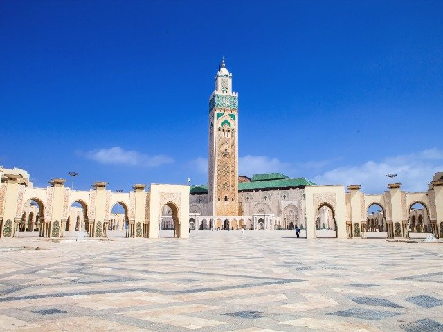 Marokko - Hassan II moskee in Casablanca