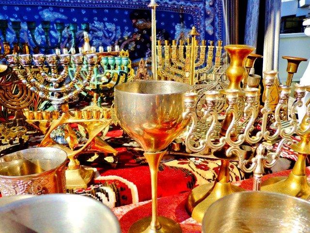 Israël - Zilveren en gouden souvenirs