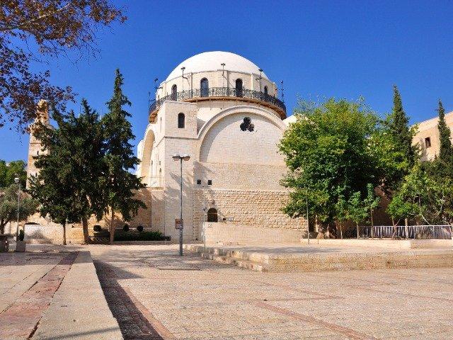 Israël - Synagoge in Jeruzalem