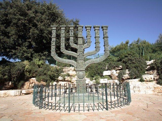 Israël - Knesset, monument in Jeruzalem