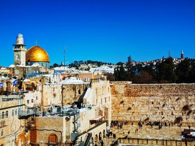 Israël - De Westelijke muur (Klaagmuur) in Jeruzalem