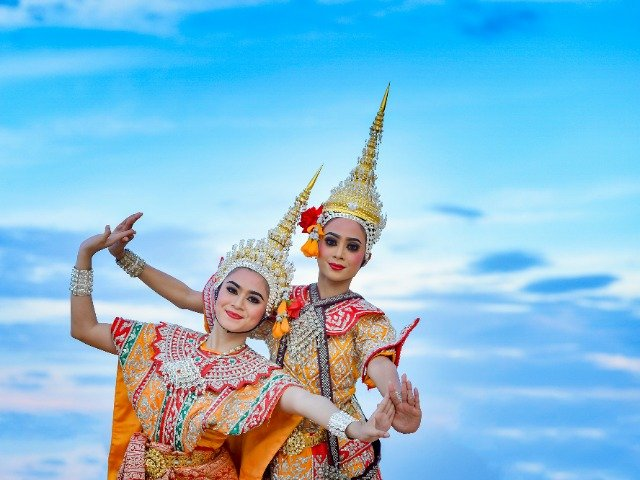 Thailand - Traditionele dansers