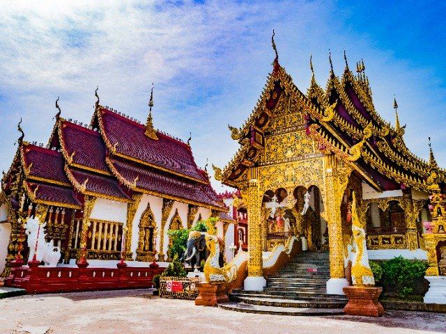 Thailand - Tempels in Chiang Mai