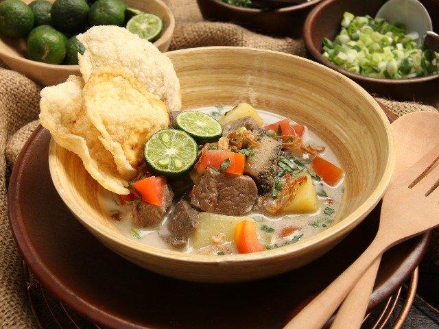 Java - Soto Betawi, soep uit Jakarta