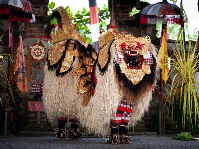 Bali - Balinese Barong dansers