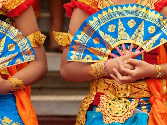Bali - Traditionele Sarong kostuums