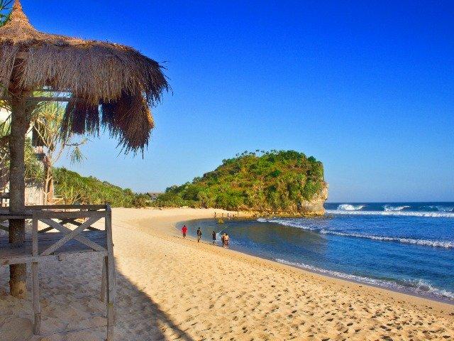 Java - Strand nabij Yogyakarta