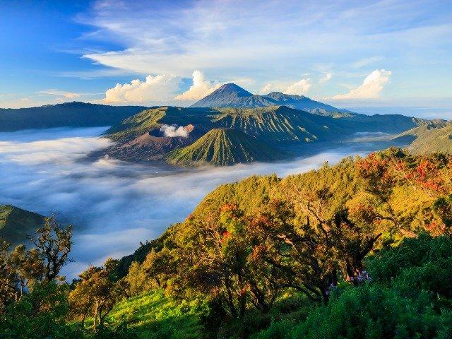 Java - De Bromo vulkaan