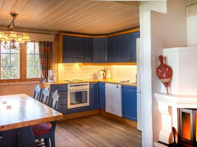 Geilo - Geilolia Forest cabins - keuken