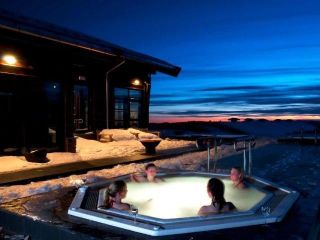 Norefjell - Hotel Norefjell ski & spa - hottub