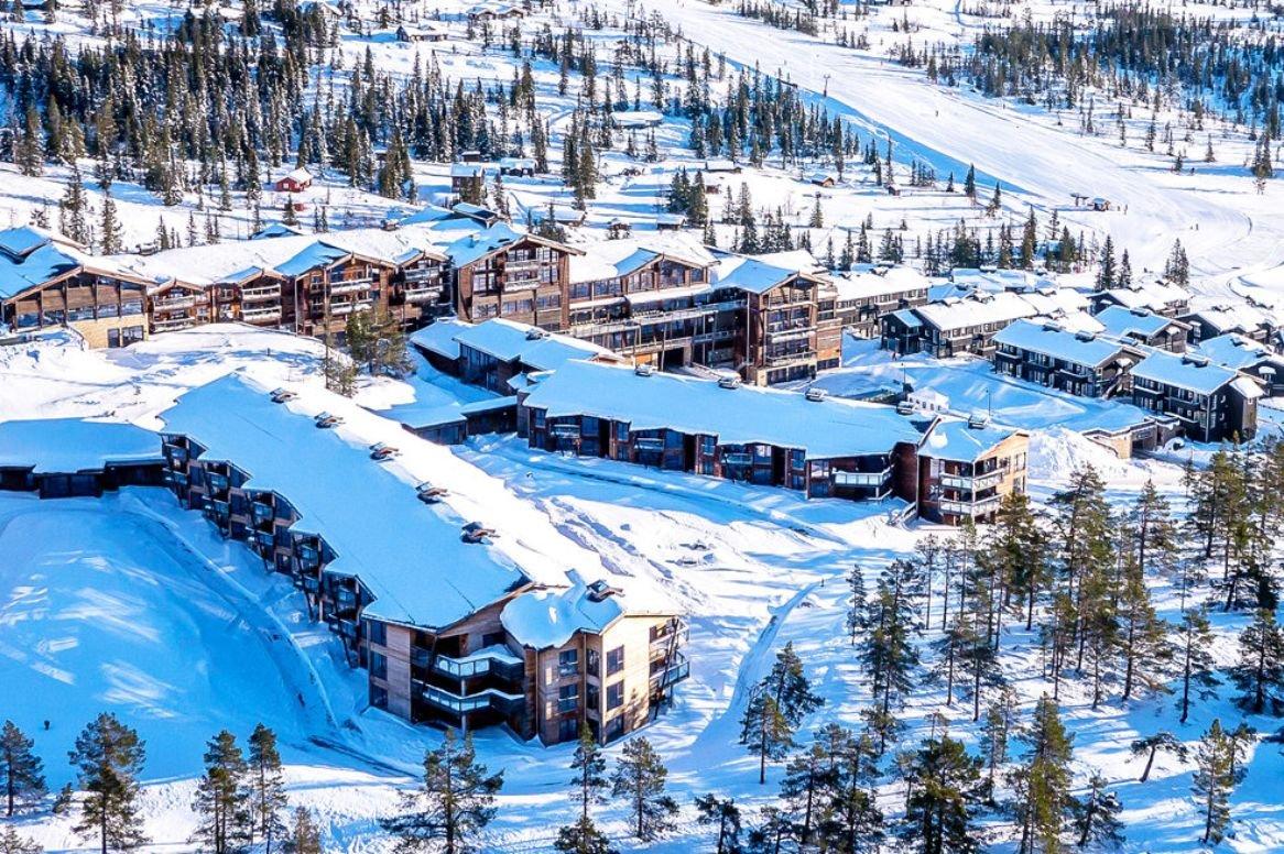 Norefjell - Hotel Norefjell ski & spa - aanzicht