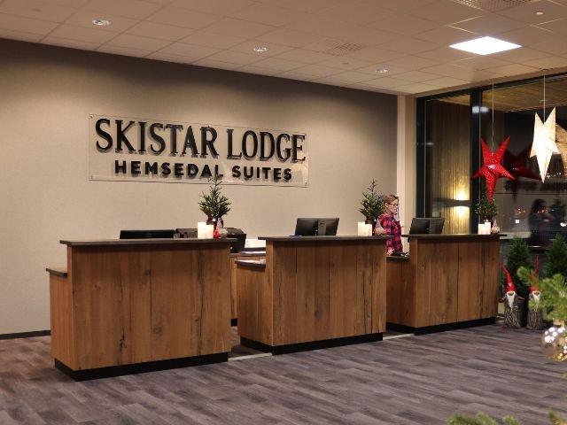 Hemsedal - Skistar Lodge Suites  - receptie