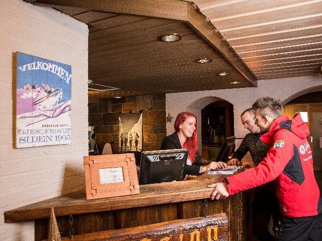 Hemsedal - Skogstad Hotel - receptie