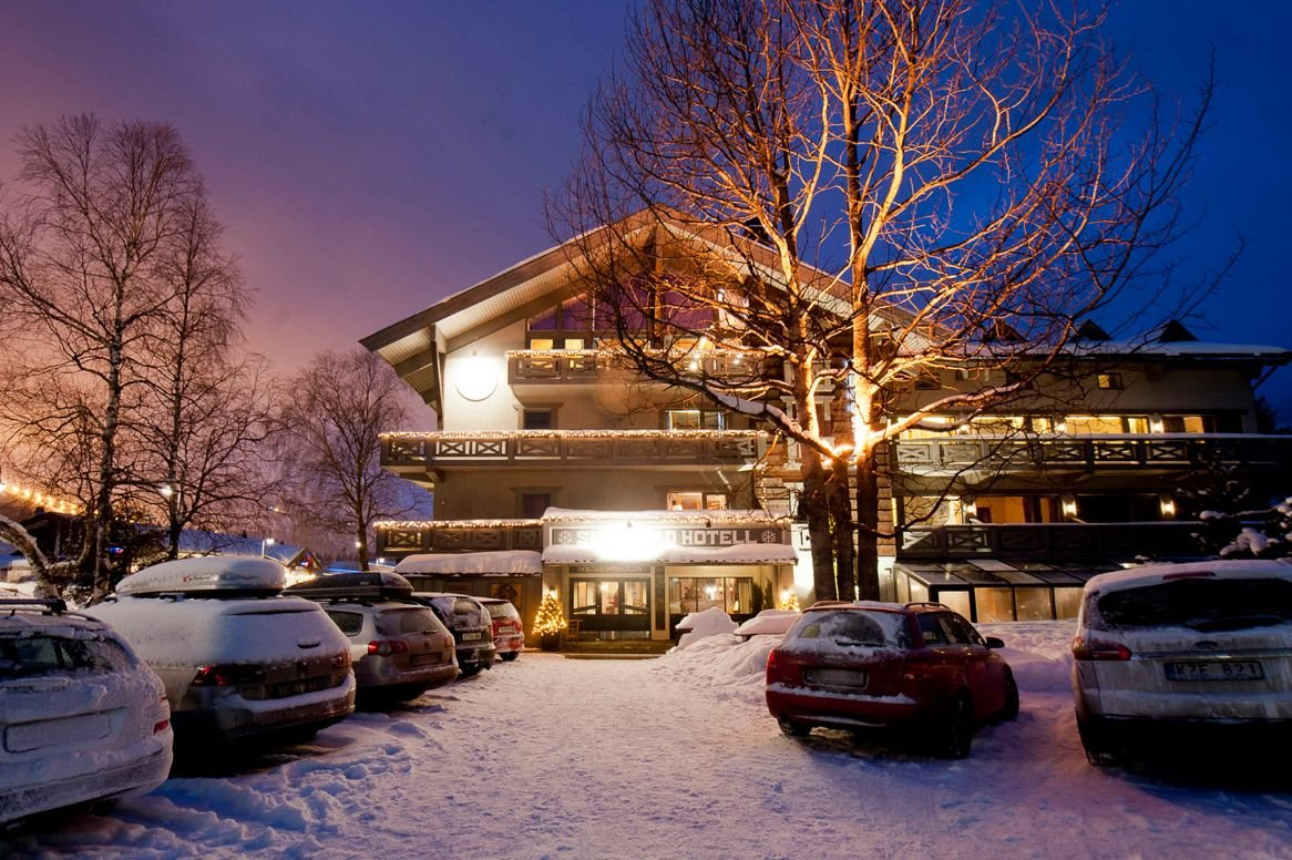 Hemsedal - Skogstad Hotel - aanzicht