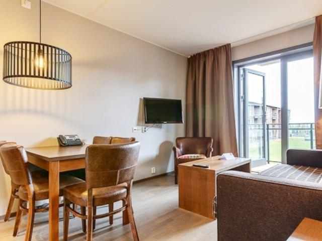 Trysil - Radisson Blu Mountain Resort & Residence - 2-kamerappartement woonkamer