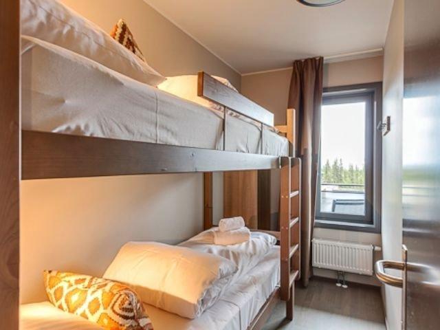 Trysil - Radisson Blu Mountain Resort & Residence - 2-kamerappartement slaapkamer