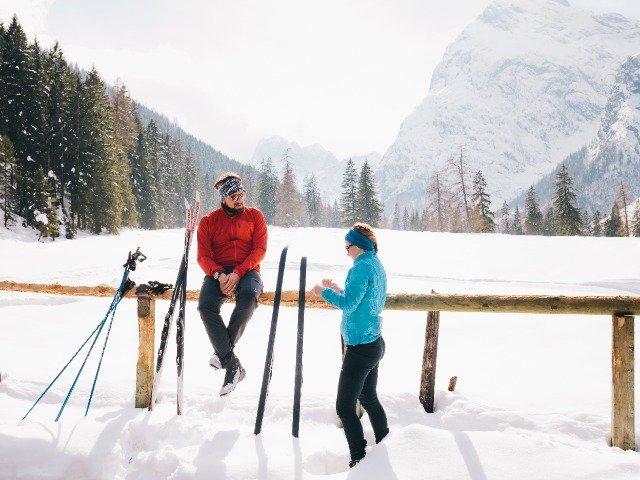 Oostenrijk - Langlaufers rusten in de bergen