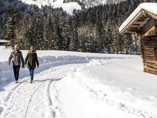 Oostenrijk - Wandelaars in St. Johann