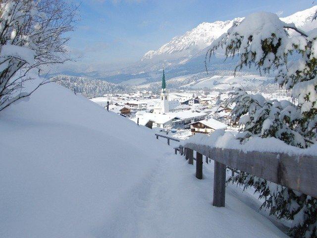 Oostenrijk - Uitzicht over Ellmau
