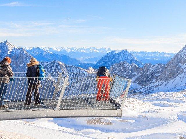 Oostenrijk - Uitzichtpunt op de Zugspitze