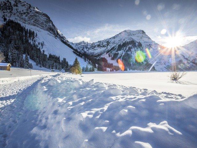 Oostenrijk - Sneeuw in de Alpen