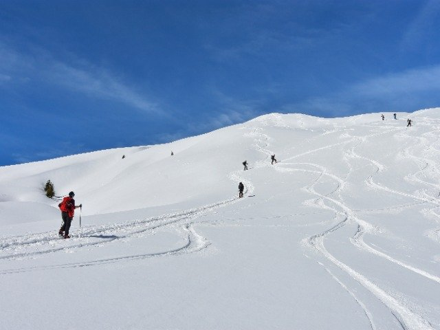 Oostenrijk - Langlaufen in Lechtal