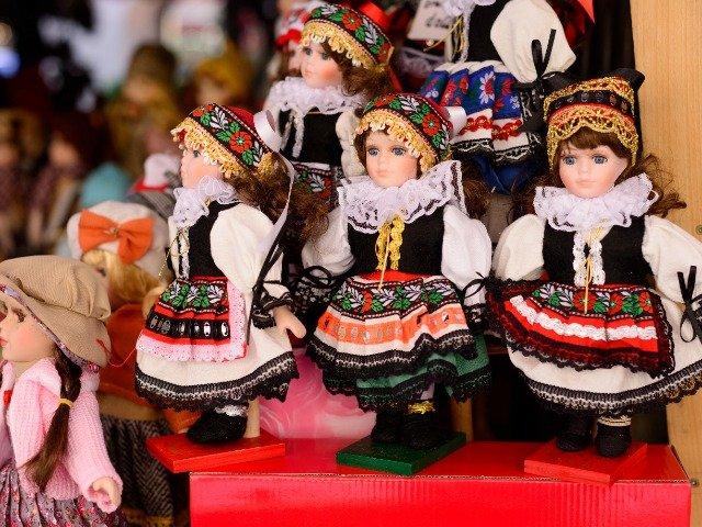 Traditionele Tsjechische poppen