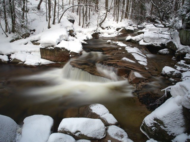Tsjechië - Harrachov, de Mumlava watervallen