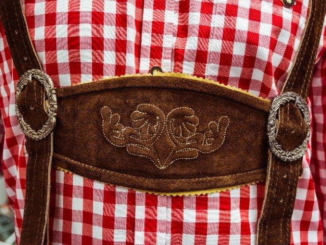 Traditionele Duitse Lederhosen