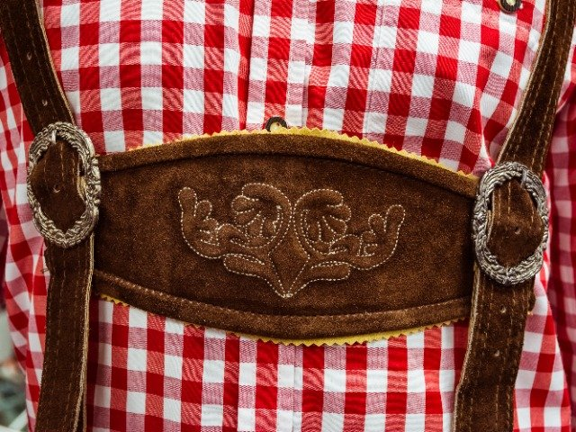 Traditionele Duitse Lederhosen