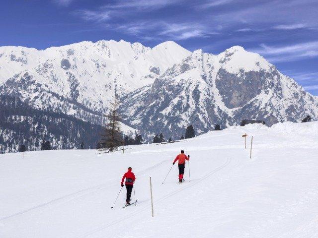 Italië - Langlaufen in de Dolomieten