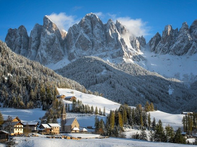 Italië - Dolomieten in de winter