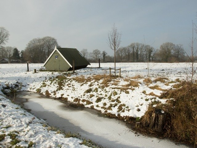 Nederland - Zouthuisjes in Twente